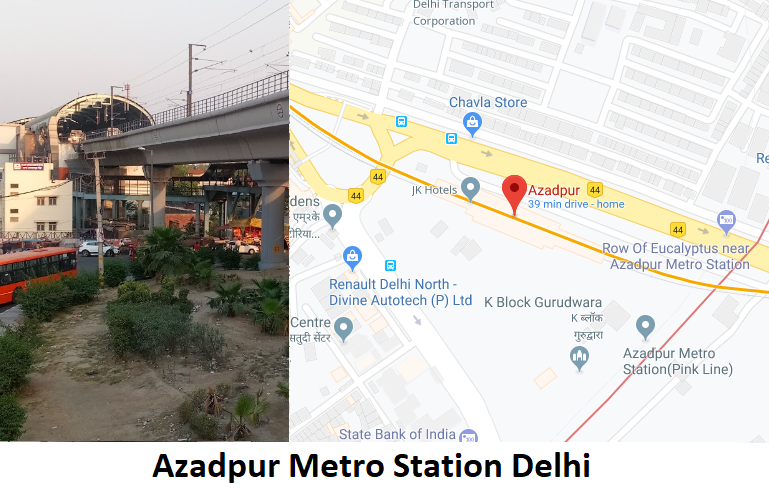 Azadpur Metro Station Delhi – Routemaps.info Find Azadpur Metro Station Delhi routes, fare ...