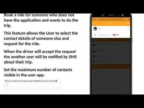 "Book Taxi for someone else feature Add on – Uber like Taxi app  See how ""Book Taxi for someone else feature"" works in Uber Taxi Clone. Please let us know if you are interested in this feature, we will provide you the additional cost  ..."