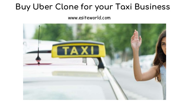 Buy Uber Clone for your Taxi Business