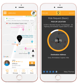 Enjoy the Plushy rides with Uber clone application for iPhone, Android  All about Uber clone app ...