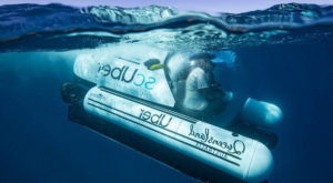 Enjoy the under-water ride with world's first ride-share submarine: scUber