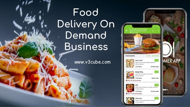 Food Delivery On Demand Business  Want to develop your own food delivery business then contact u ...