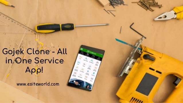 Gojek Clone – All in One Service App! Build a gojek clone app for your own on demand servi ...
