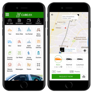 Gojek clone app script and app with perfection