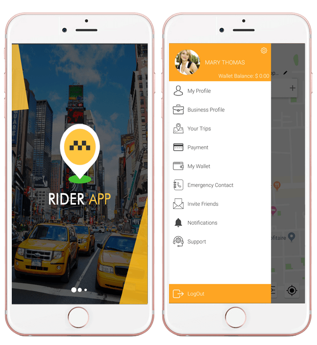 Choose Uber app clone to enjoy a lavish ride