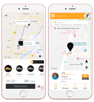 Hire a pocket-friendly taxi with the fingertips of your hand: Uber app clone