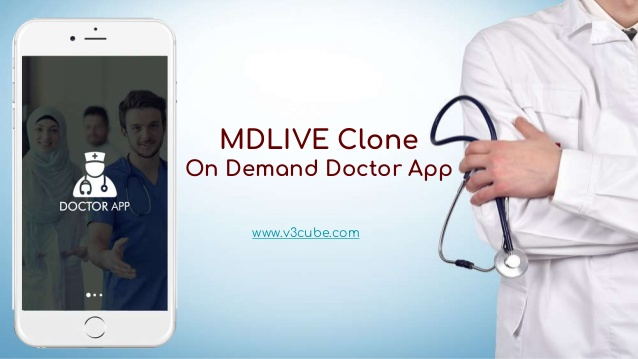 MDLIVE Clone- On Demand Doctor App