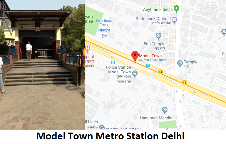 Model Town Metro Station Delhi – Routemaps.info Find Model Town Metro Station Delhi routes ...