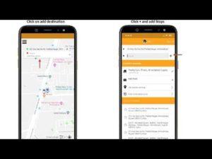 Multiple Destination Stops – Uber Taxi Clones – V3Cube.com