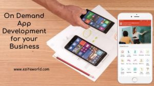 On Demand App Development for your Startup