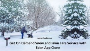 On demand snow removal eden app clone  Check the on demand eden clone app with its snow removing ...