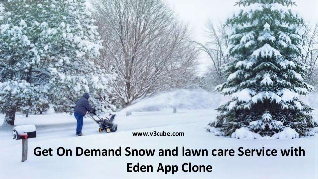 On demand snow removal eden app clone  Check the on demand eden clone app with its snow removing ...