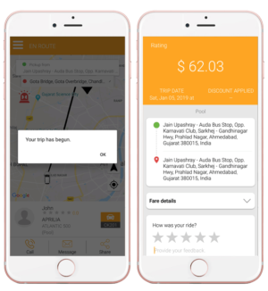 One single solution for every rider: Canary Taxis app clone