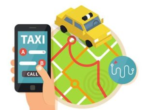 Taking you to your destination: Taxi App Solution France