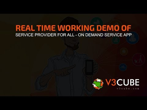 Uber for All Service On-Demand Apps Version 5.1 2019 – V3Cube – YouTube  See how the real time Service Provider App works. Its Uber for All Services in 1 App – Uber for Handyman: Plumber, Electricians, Doctors, Dog Walkers, Beauticia ...
