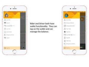 Wallet Feature – Uber Taxi Clone –  Let's check the video See how Wallet works ...