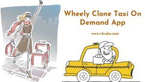 Wheely clone taxi on demand app