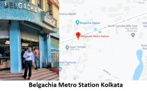 Belgachia is a station of the Kolkata metro. Belgachia is underground metro station situated on  ...