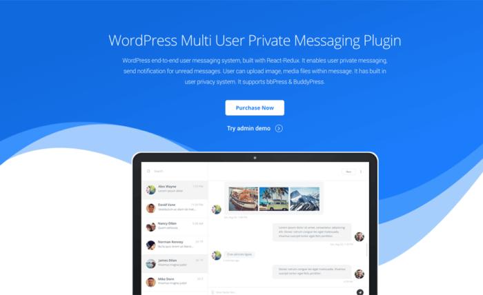 Best Private Message WordPress Plugin: YoBro   RedQ Inc
