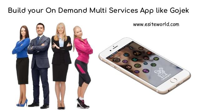 Build your On Demand Multi Services App like Gojek