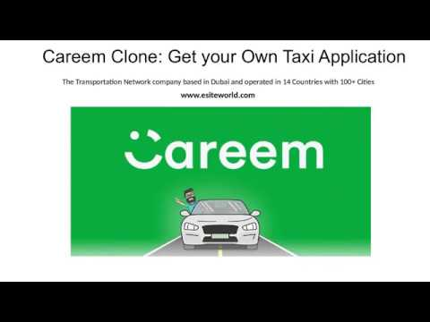 Careem Clone Script App: Launch Your Own Taxi Business – YouTube