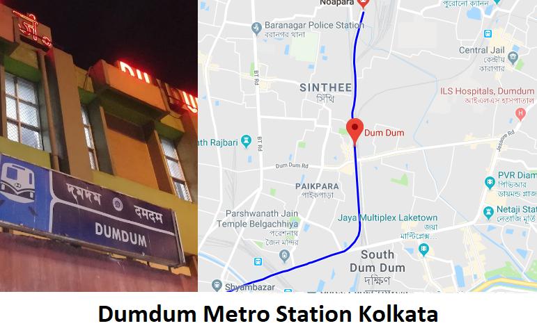 Dumdum Metro station Kolkata Dumdum is metro station in Kolkata metro that is located on   Blue  ...