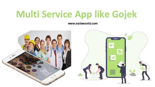 Multi service app like Gojek for your Startup Business