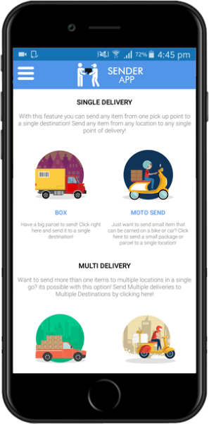 on demand delivery solution Kuwait: Try it, you will like it