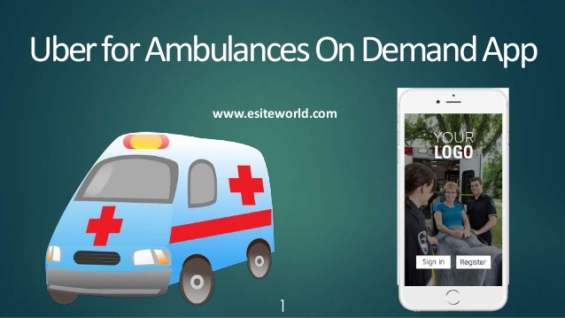 Uber for Ambulances On Demand App