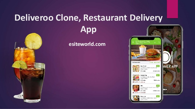 Deliveroo Clone: Restaurant Delivery App