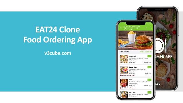 EAT24 Clone Food Ordering App