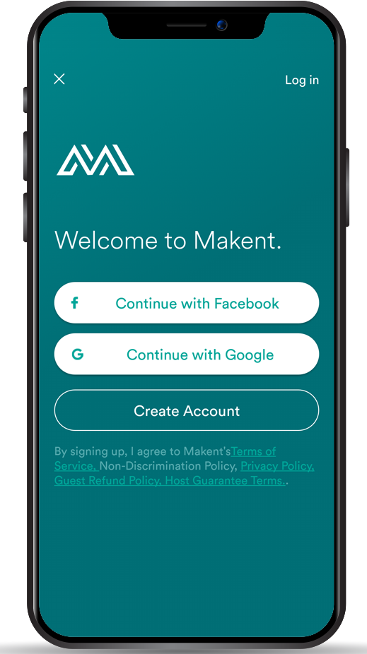 Makent – Airbnb clone
