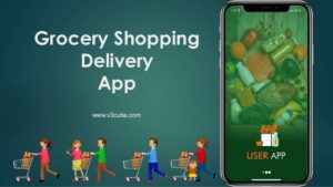 On Demand Grocery Shopping Delivery App
