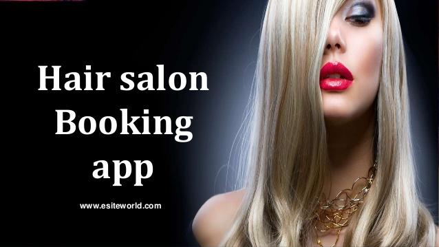 On demand hair salon booking app