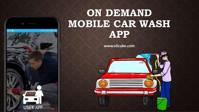 On Demand Mobile Car Wash App