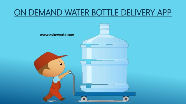 On Demand Water Bottle Delivery App
