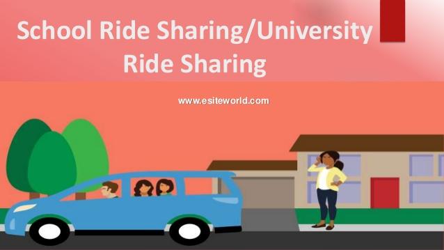 School university ride sharing app