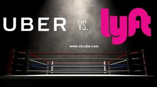 Check the difference between Uber and Lyft App