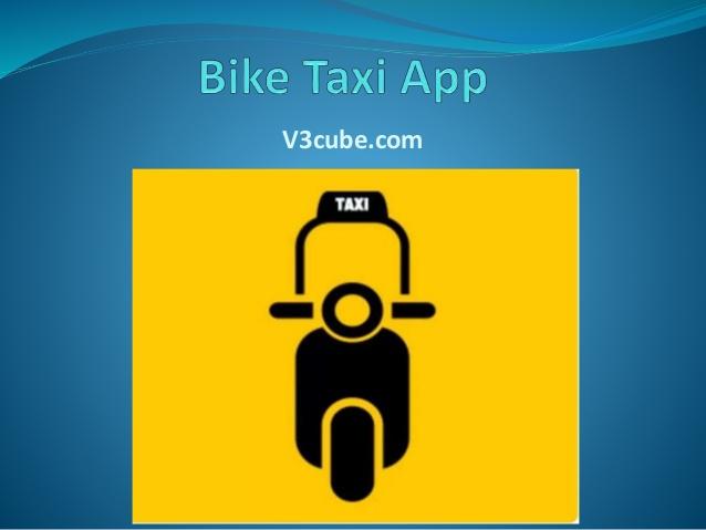 Bike Taxi App