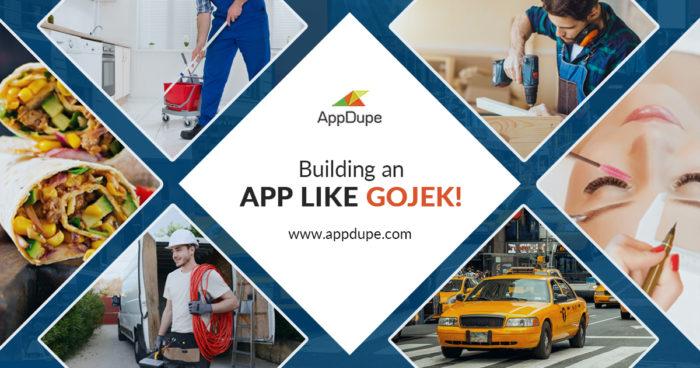Building an App like GoJek!