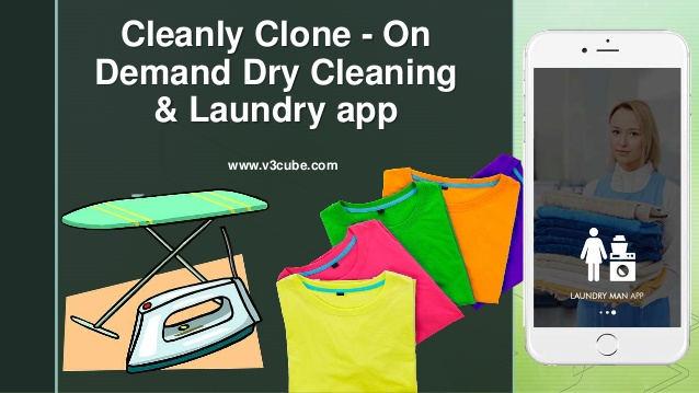 Cleanly Clone – On Demand Dry Cleaning & Laundry App