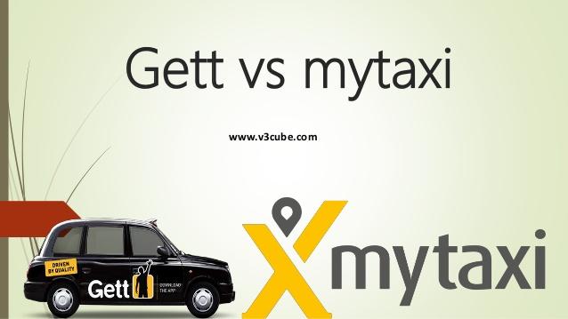 Gett vs Mytaxi App