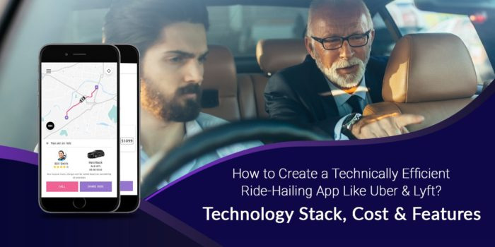 How to Create a Ride-hailing App like Uber & Lyft? Technology Stack, Estimated Cost, and Fea ...