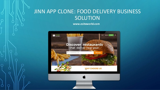 Jinn app clone: food delivery business solution