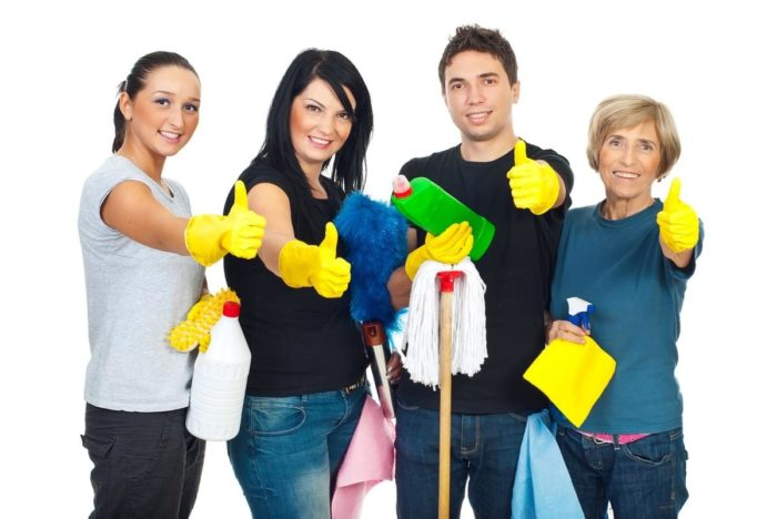 Make your house shiny and spotless with House cleaning on demand app
