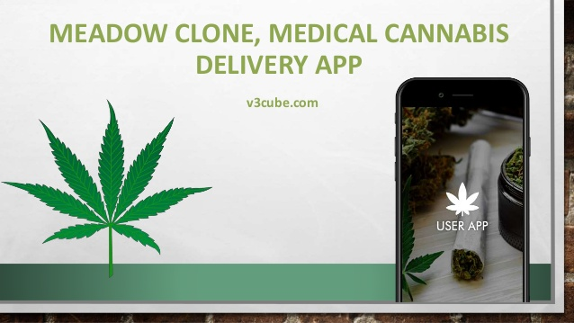 Meadow Clone: Medical Cannabis Delivery App