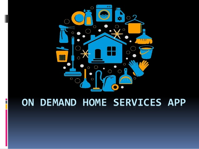 On demand home services app