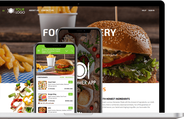 Get the food that suits your taste with a food ordering app