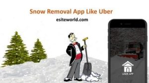 Snow Removal App Like Uber