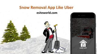 Snow Removal App Like Uber